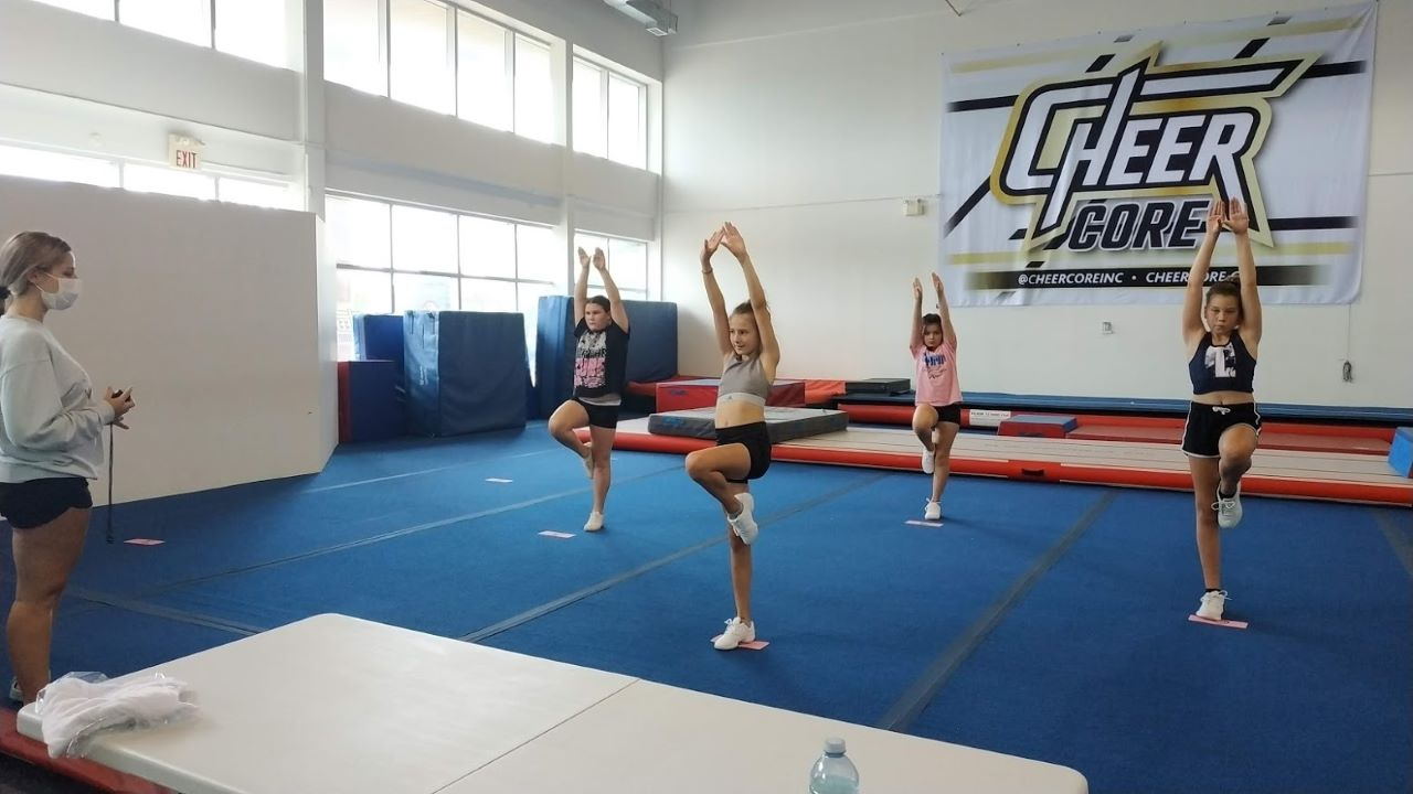 cheer tumbling camp barrie